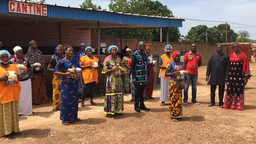 Nutritious meals for employees in Ivory Coast