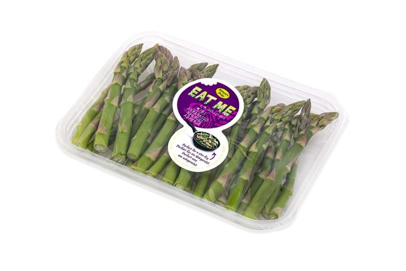 Green Asparagus Tips - Punnet 100 Grams