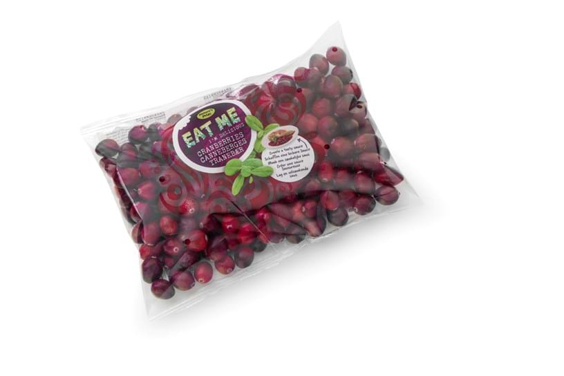Cranberries - Plastic packaging 250 gram
