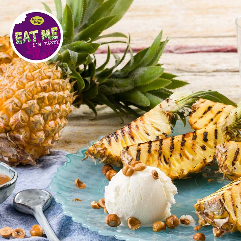 Baby pineapple - Recipes & Preparation