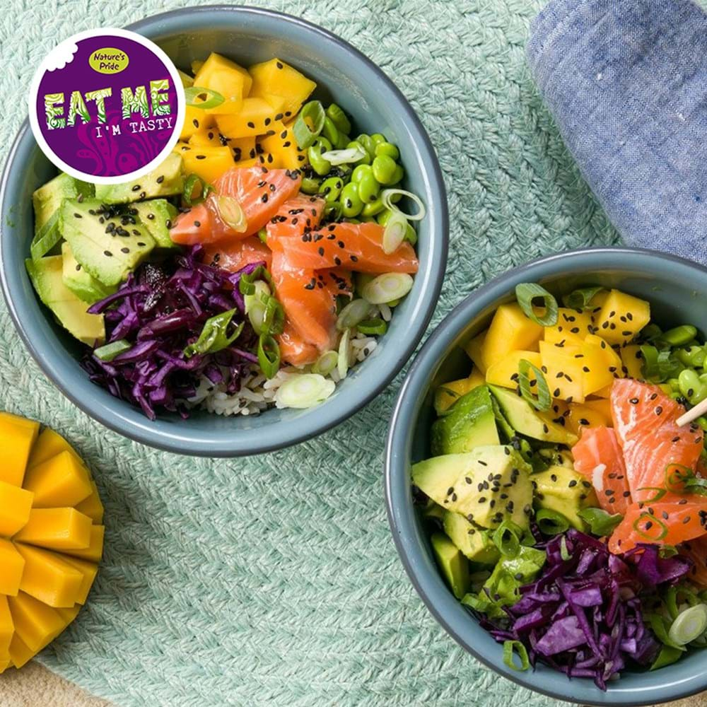 Pokebowl With Mango And Avocado