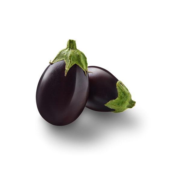 Mini Aubergines - Productfoto